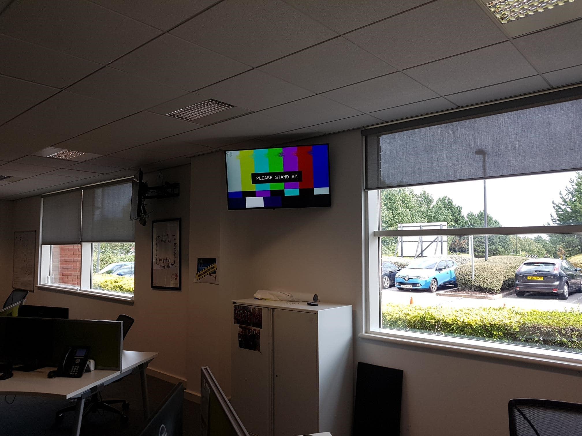 digital signage installers warrington