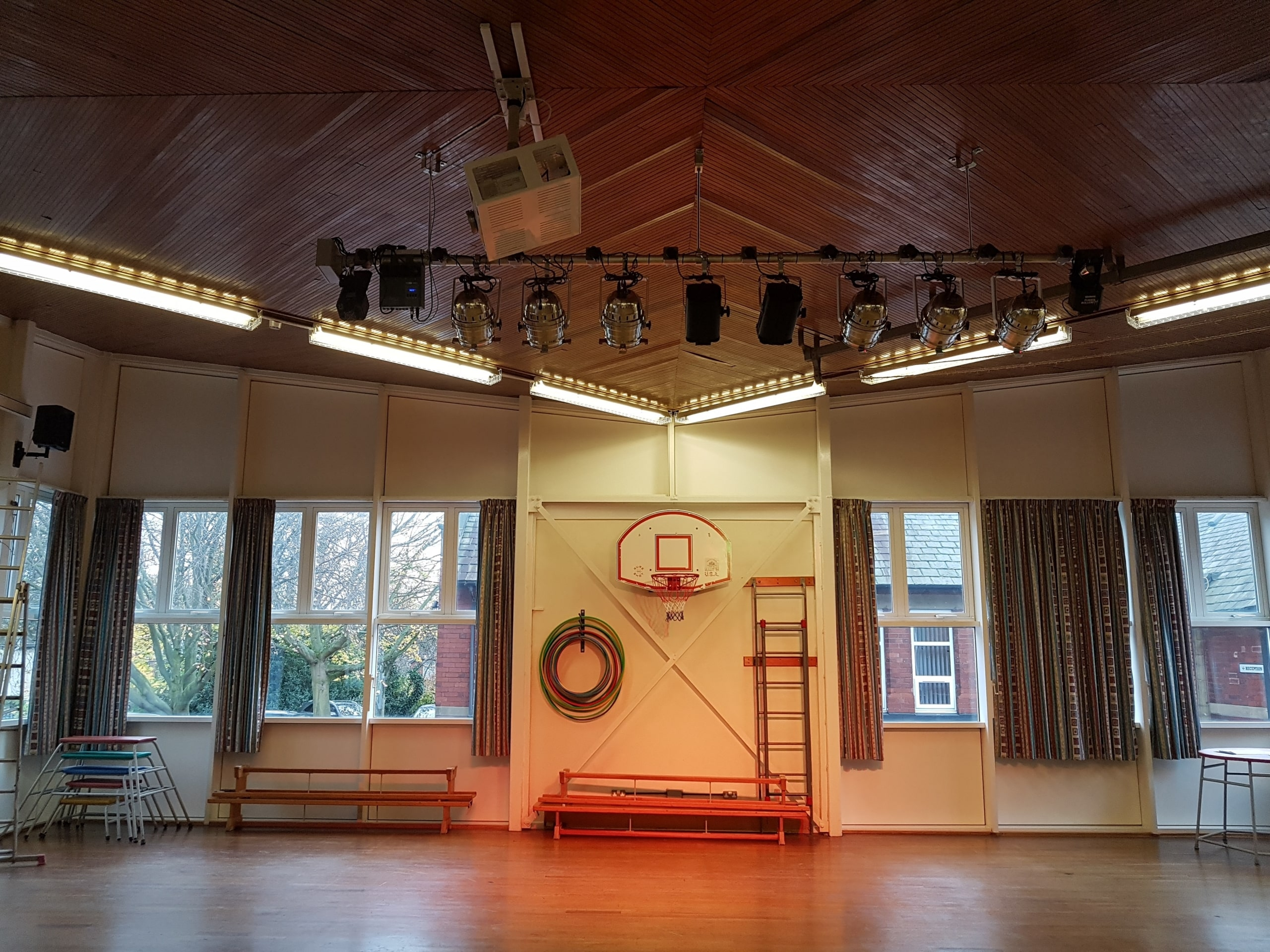 stage lighting installation wakefield