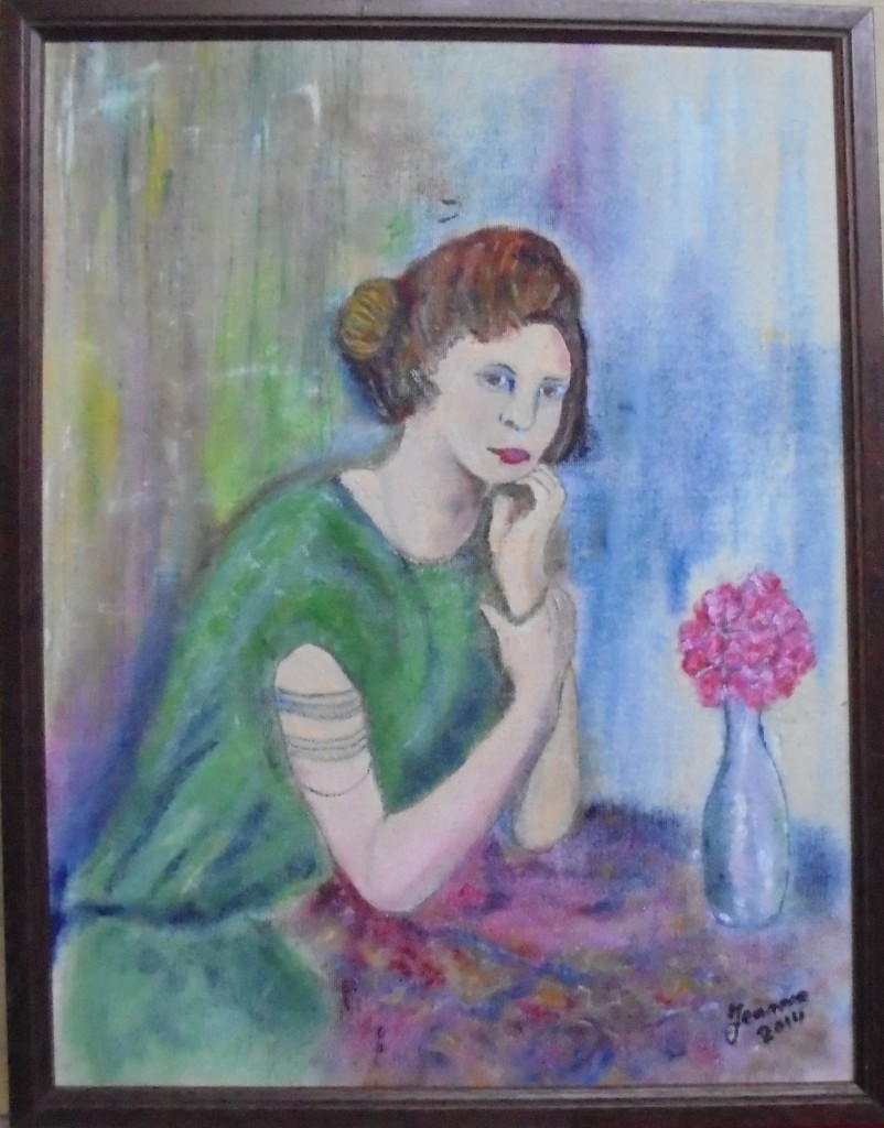 Jeanne jannetje kraanen omstreeks 1921