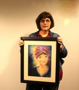 Ank, kunstenaar vd maand maart 2015, bijgesneden