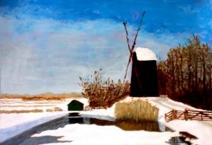 Piet Tom Smit schilderij van de maand, april 2015