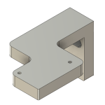 Pos. 17 Adapter Referenzschalter X-Achse [1x]