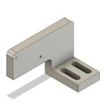 Pos. 16 Adapter Referenzschalter Z-Achse [1x]