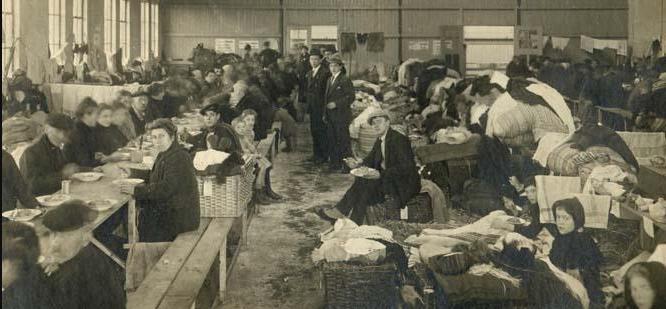 Belgische vluchtelingen in Rotterdam