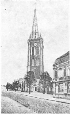 St elooikerk Hazebroek (voor de oorlog)