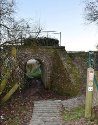 Nieuwkerke Pont d'amour