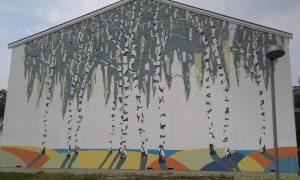 Udendørs vægmalerier til gavle og facader