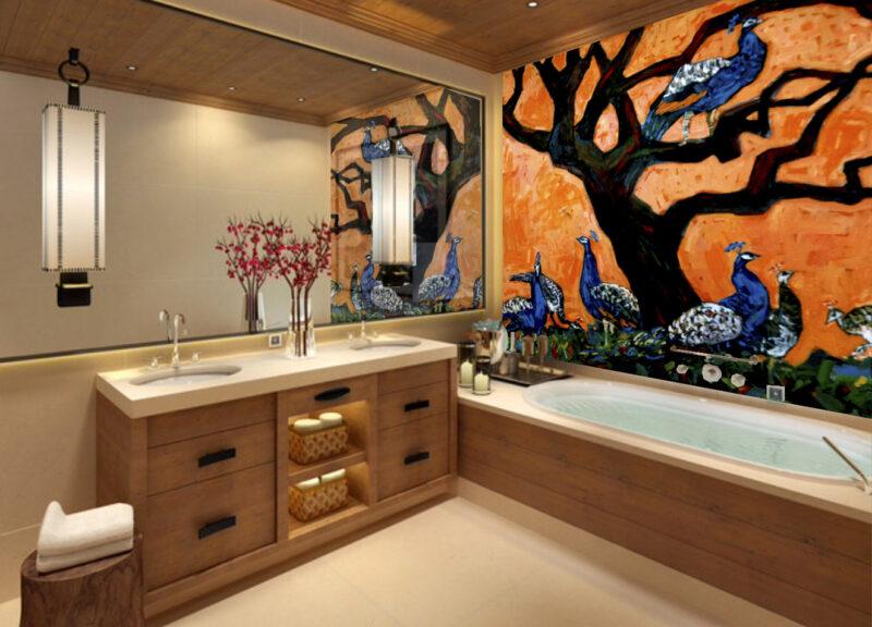 Dekorativ boligudsmykning til privat hjem