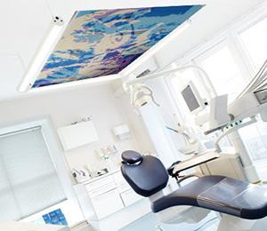 Loftsmaleri til tandlægeklinik