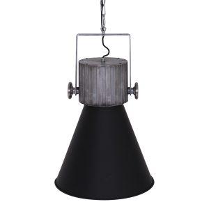 Hanglamp Anne Lighting hoody pendant - Zwart-1457ZW