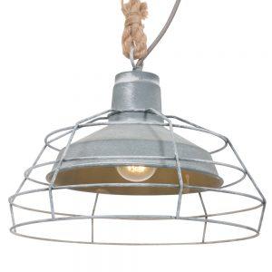 Hanglamp Mexlite Dina - Grijs-7776GR