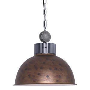Hanglamp Mexlite Dinko - Bruin-1455B