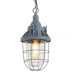 Hanglamp Mexlite Ebbe - Grijs-7890GR