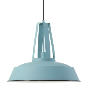Hanglamp Mexlite Eden - Blauw-7704BL