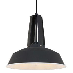 Hanglamp Mexlite Eden - Zwart-7704ZW