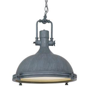 Hanglamp Mexlite Eliga - Grijs-7636GR