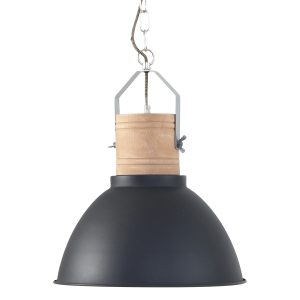 Hanglamp Mexlite Emile - Zwart-7781ZW