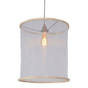 Hanglamp Mexlite Finn - Wit-7993W