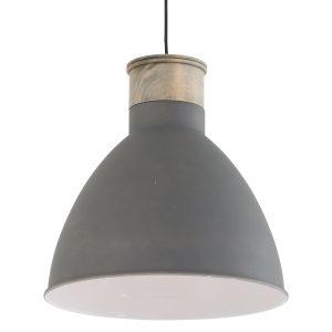 Hanglamp Mexlite Gunar - Grijs-7889GR