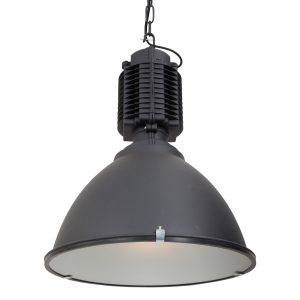 Hanglamp Mexlite Hanne - Zwart-7782ZW
