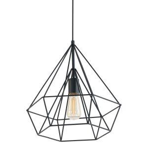 Hanglamp Mexlite Jenno - Zwart-7597ZW