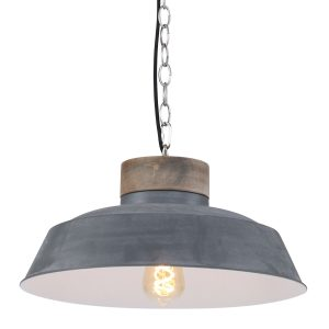Hanglamp Mexlite Mila - Grijs-7983GR