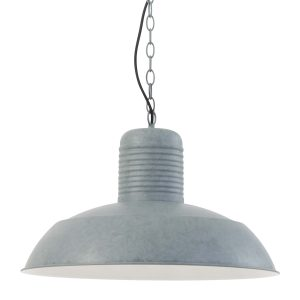 Hanglamp Mexlite Nanjo - Grijs-7728GR