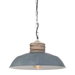 Hanglamp Mexlite Samso - Grijs-7974GR
