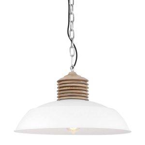 Hanglamp Mexlite Samso - Wit-7974W