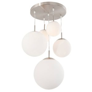 Hanglamp Steinhauer Bollique LED - Staal-7376ST