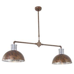 Hanglamp Steinhauer Brooklyn - Bruin-7671B