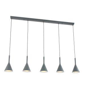 Hanglamp Steinhauer Cornucopia - Grijs-7808GR