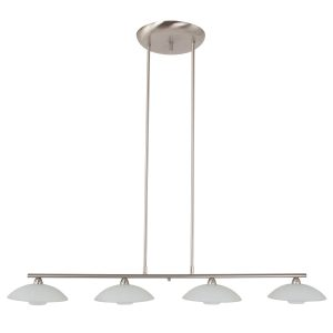 Hanglamp Steinhauer Monarch LED - Staal-7964ST