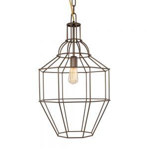 Hanglamp Steinhauer Wired - Bruin-7727B