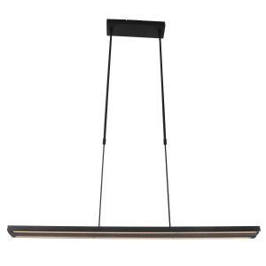Hanglamp Steinhauer Zelena LED - Zwart-7970ZW