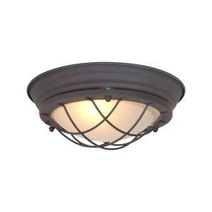 Plafondlamp Mexlite Mare - Bruin-1357B