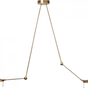 Plafondlamp Steinhauer Ballade - Brons-6873BR