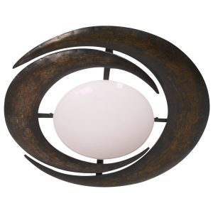 Plafondlamp Steinhauer Ceiling and wall - Wit-6183B