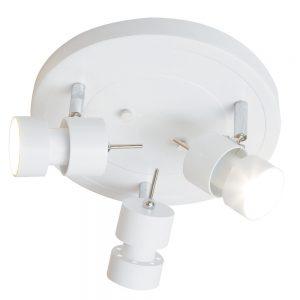 Plafondlamp Steinhauer Natasja LED - Wit-7905W