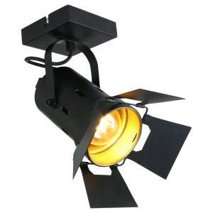 Spot Mexlite Carré - Zwart-7996ZW