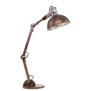Tafellamp Steinhauer Brooklyn - Bruin-7715B