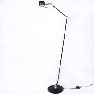 Vloerlamp Mexlite Davin - Zwart-7658ZW