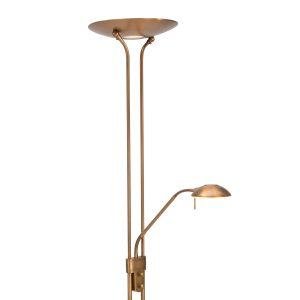 Vloerlamp Mexlite Jens - Brons-7500BR