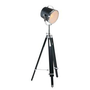 Vloerlamp Mexlite Tribus - Zwart-7613ZW