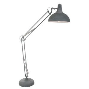 Vloerlamp Mexlite XXL Office - Grijs-7633GR