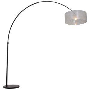 Vloerlamp Steinhauer Gramineus - Zwart-9833ZW