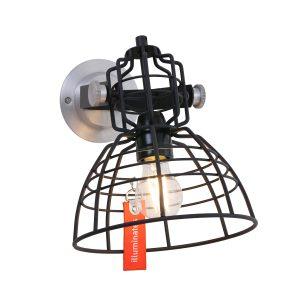 Wandlamp Anne Lighting MarkIII - Zwart-7875ZW
