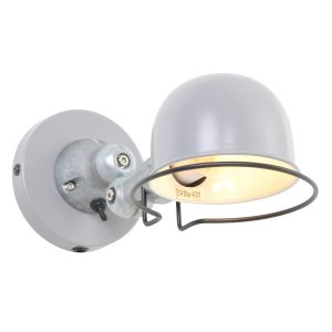 Wandlamp Mexlite Davin - Grijs-7657GR
