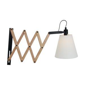 Wandlamp Mexlite Dion - Beuken-8852BE