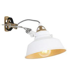 Wandlamp Mexlite Nové - Wit-1320W